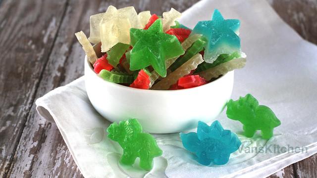 Agar jelly candy (Mứt rau cau)