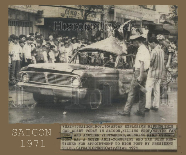 Saigon 1971 - Terrorist attack - Prof. Nguyen Van Bong