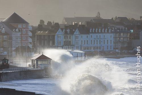 Aberystwyth - storm