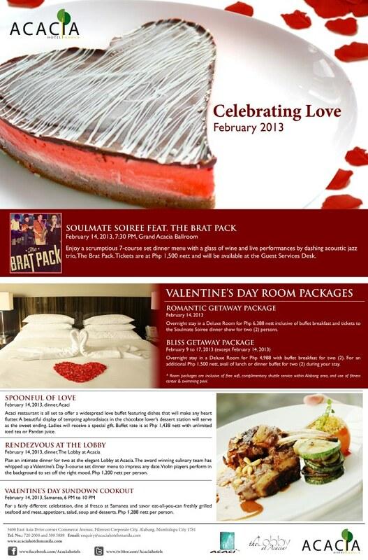 Valentine's at Acacia Hotel Manila