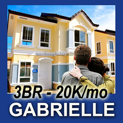 House and Lot for Sale in Imus Cavite near MOA at Lancaster Estates. Alexandra House Model - Gabrielle at Lancaster Estates
