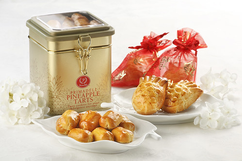 PrimaDéli Pineapple Tarts - Fortune Pineapple and Pillow