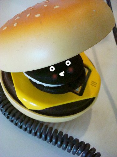 Whoopie Pie Burger Phone