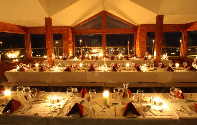 Aonach Mor Moonlight Dinner Boyne Highlands