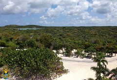 Half Moon Cay, Bahamas: The majority of the island is a nature reserve