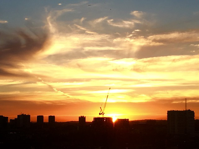 West London Sunset