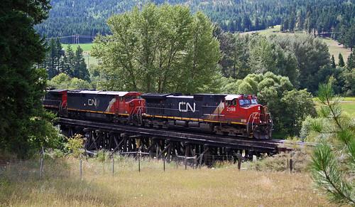 train railway railroad trestle switcher branchline cnr okanagan