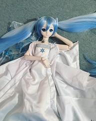Princess #snowmiku #hatsunemiku #miku #dollphotography #dollfiedreamcommunity #dollfiedream