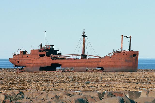 Wreck of the MV Ithaca