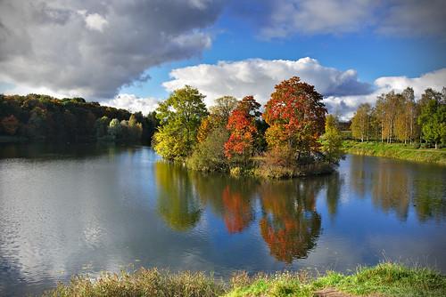 Autumn-Colored Island