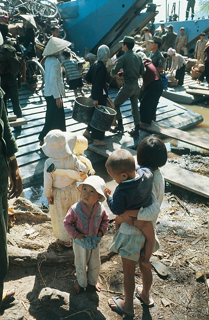 14 Jan 1967, Ben Suc - Vietnamese Refugees Getting Ready for Relocation