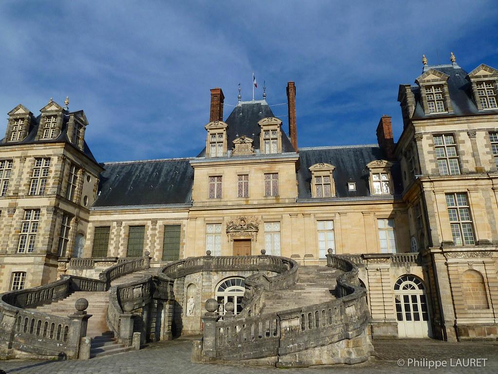 Fontainebleau map le de france mapcarta for Hotel fontainebleau france