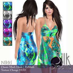 Silk Dreams Nikki Poster