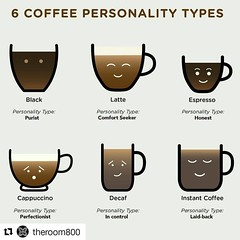 Which one(s) are you? I am purist, honest, and perfectionist. #Repost @theroom800 with @repostapp ・・・ Its #nationalcoffeeday! Let's celebrate the black gold that keeps us going day in and day out. FREE drip coffee all day! #latte #cappuccino #dripcoffee #