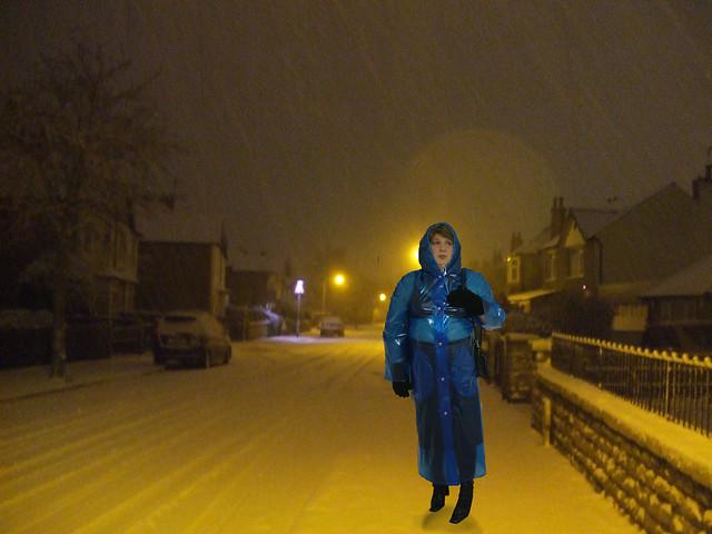cold snowy night