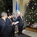 Secretary General Lights OAS Christmas Tree