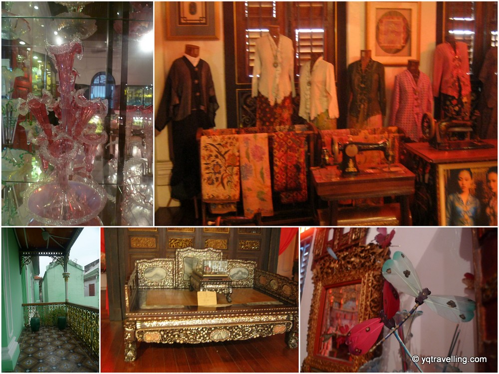 Deco of Pinang Peranakan Museum