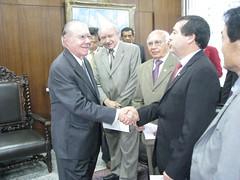 Com o Presidente do Senado José Sarney
