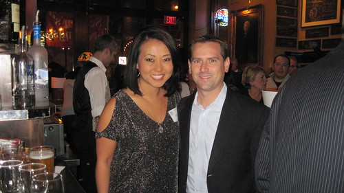 Susan Kim & Vince Vitrano from Today's TMJ4 at our Meet the Media event on Nov. 29th at the Newsroom.
