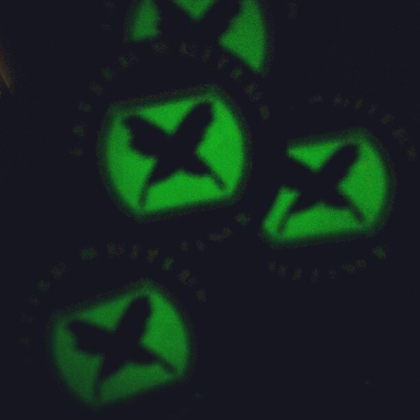 Also, they glow in the dark!