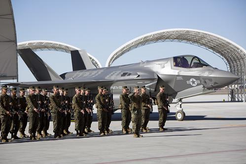 Marine Corps VMFA-121 Re-designation Ceremony