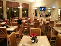 Meeting at 6. Breakfast at 6.30. Empty breakfast restaurant....