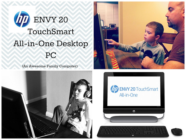HP ENVY 20 TouchSmart AiO Desktop PC