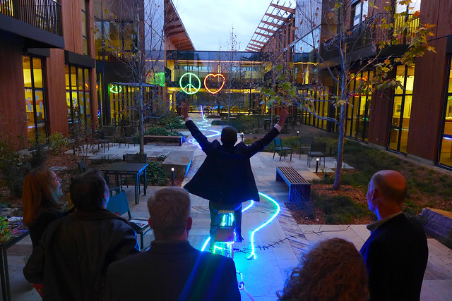 Interactive Pedal Powered Lighting Rigs Rock The Bike