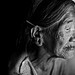 Konyak Naga woman from Nagaland - INDIA -