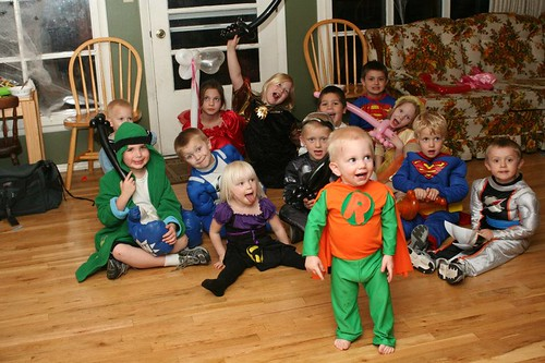 logan's birthday party