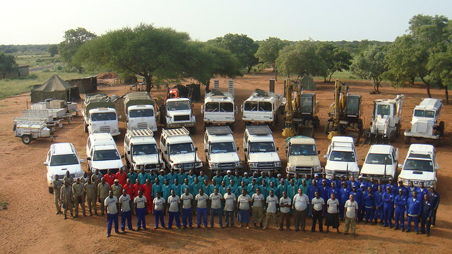 Mozambique Mine action teams