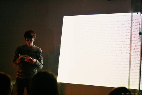 Poetry @ The Rag Factory 14/12/12