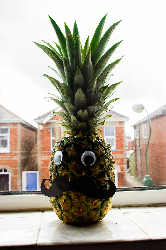 Miguel, the pineapple