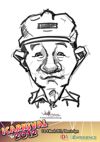 digital live caricature for iCarnival 2012  (IDA) - Day 1 - 40