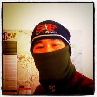 my biking in the snow equipment