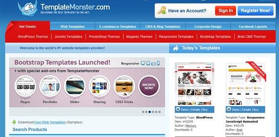 Budget Website - TemplateMonster