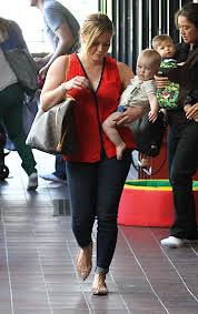 Hilary Duff Studded Loafers Celebrity Style Women's Fashion