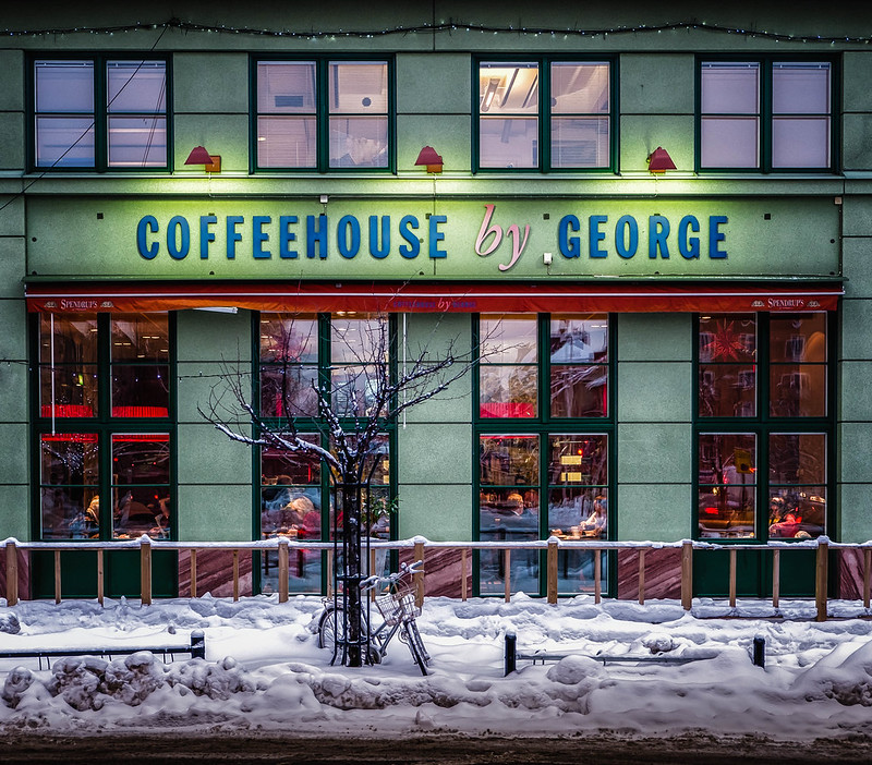 Coffeehouse by George in Alvik, Stockholm
