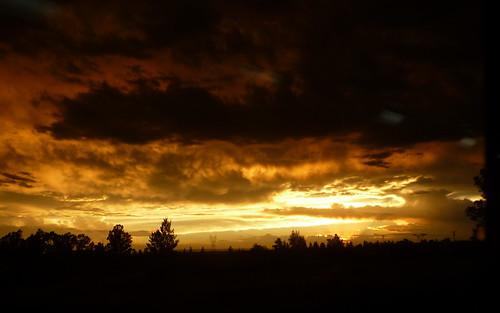 sky storm atardecer cielo tormenta siluetas lateafternoon funes diegostiefel