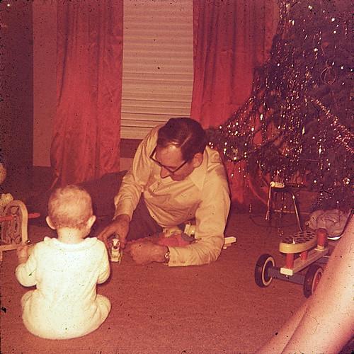 Christmas and baby