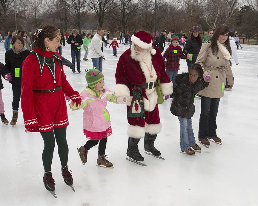 Skating With Santa 11