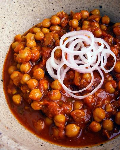 Curry van Kikkererwten