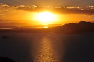 Amantani Island Sunset, Lake Titicaca