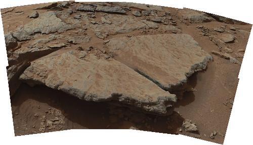 CURIOSITY sol 130 Mastcam left