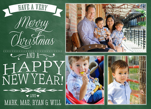 Armstrong Christmas Card 5x7 2012