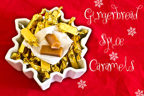Gingerbread Spice Caramels