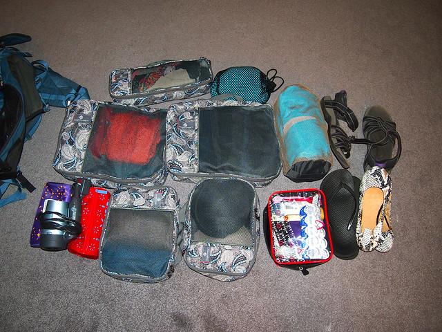 Scotland/Belize packing