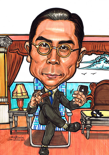 刘松仁caricature in 名媛望族
