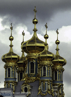 Golden Domes of Russian Orthodox Church