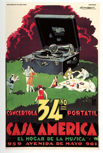 Casa America, Concertola Portatil by paul.malon
